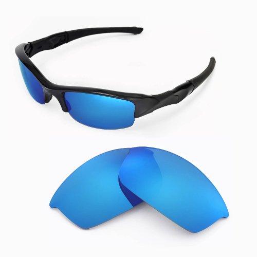 sunglasses restorer Kompatibel Polarisierte Erastzgläser Ice Blue für Oakley Flak Jacket