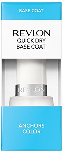 Revlon Quick Dry Base Coat, 1er Pack (1 x 15 g) (Revlon Coat Base)