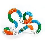 Tangle Jr. Textured Sensory Fidget Toy, Blue Orange Green