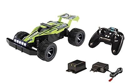 Revell Control X-treme 24813 - RC Car - schnelles, sehr robustes ferngesteuertes Auto als Buggy mit 2.4 GHz Fernsteuerung inklusiv Akku und Ladegerät - PLUTONIUM von Revell