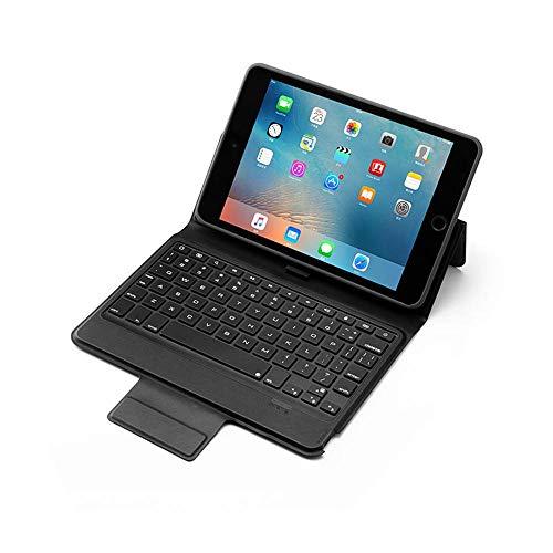Volwco Tastatur Hülle 7.9 Zoll Für IPad Mini 5 2019 (5th Gen) / IPad Mini 4 2015, Stifthalter Und DIY Hintergrundbeleuchtung, Premium Leder Wireless Bluetooth Tastatur Smart Schutzhülle (Mini Three Keyboard Ipad)