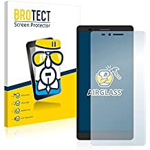 BROTECT AirGlass Protector Pantalla Cristal Flexible Transparente para Elephone Vowney Protector Cristal Vidrio - Extra-Duro, Ultra-Ligero, Ultra-Claro