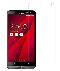 VJOY Antishock Tempered Glass Screen Protector for Asus Zenfone 2 ZE551ML and (Single Front Transparent Screen Protector) Freebies Offer : The Great Grand Diwali Deal (Get a VJOY 5200 mAh Power-Bank YELLOW) (1 Year Replacement Guarantee, Li-ion Battery, Long Battery-Life) worth Rupee 1599/- absolutely free with Screen Protector)