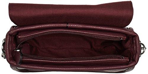 s.Oliver 39.509.94.5313 Damen Umhängetaschen 19x14x9 cm (B x H x T) Violett (dark burgundy 4933)