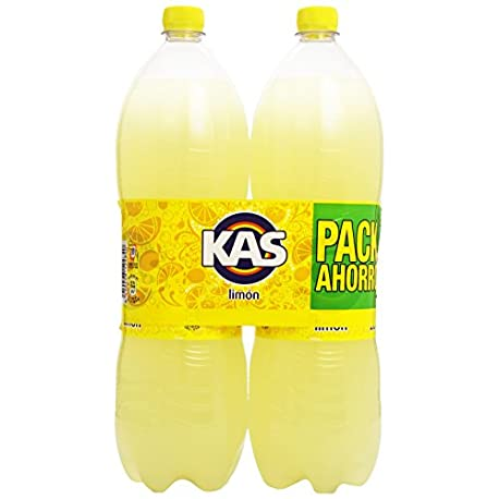 Kas Lim n Bebida Refrescante Paquete de 2 botellas x 2000 ml Total 4000 ml
