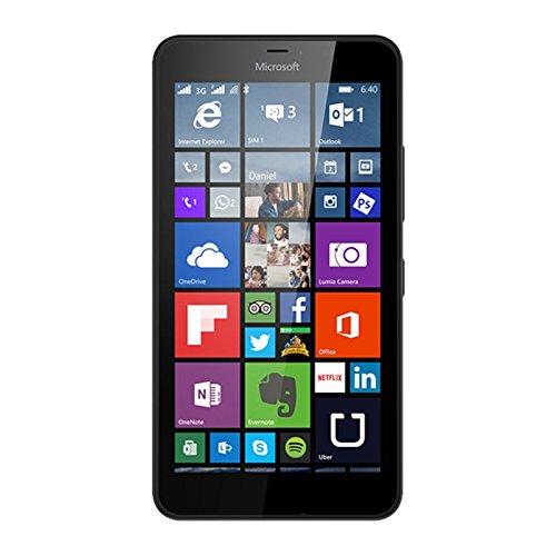 Microsoft a00024453 lumia 640xl smartphone da 8gb, nero [italia]
