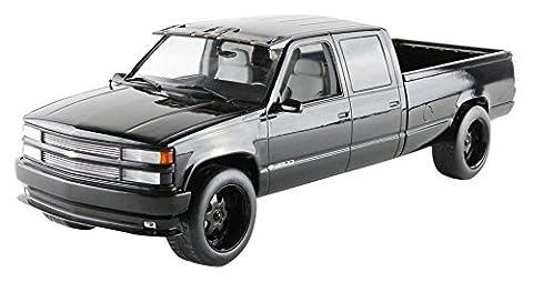 1997 Chevrolet C-2500 Mannschaft Cab Silverado Pickup-Truck Black 1/18 Druckguss Modell Auto von Greenlight