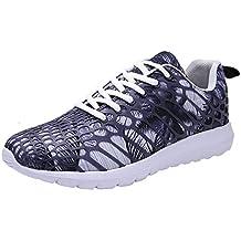 Zapatos de Unisex,BBestseller Color sólido Calzado Deportivo Transpirable Sneakers Zapatillas Running para Hombre