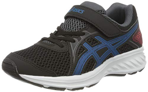 ASICS Unisex-Child 1014A034-006_34,5 Running Shoes, Black