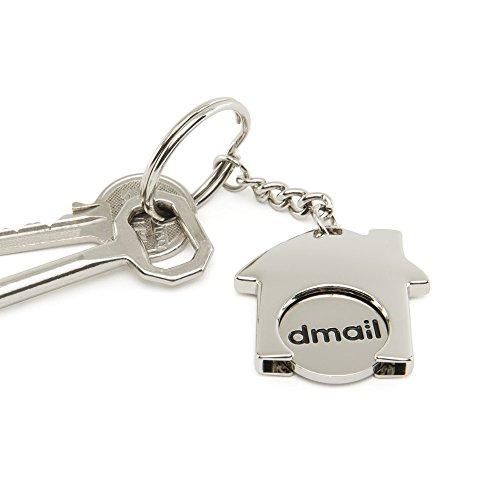 dmail–Schlüsselanhänger mit Währung für Wagen–Vogelhaus