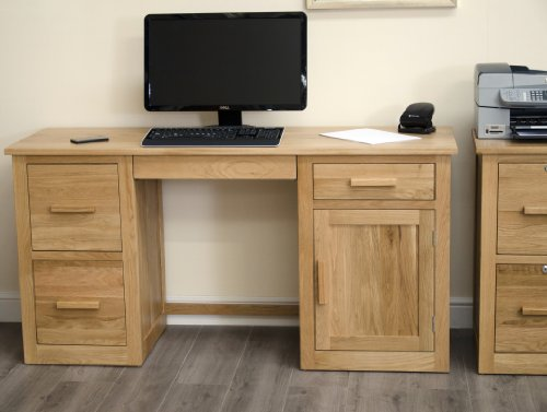 Cheapest Price for Arden Solid Oak Furniture Large Office Computer Desk Review