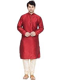 Kurta Pyjama für Männer Langarm Kurta Pyjama Set indische Yoga Sommerkleidung