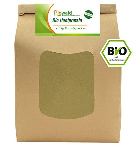 Piowald BIO Hanfprotein - 1 kg aus der EU