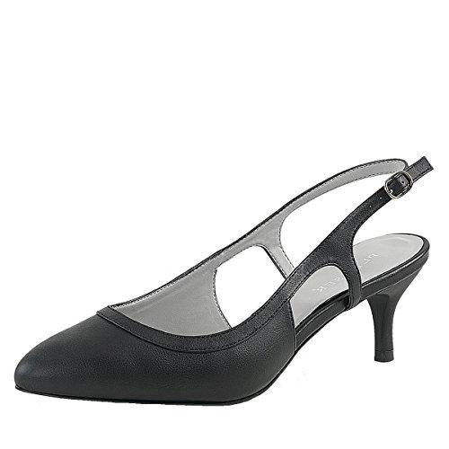 Heels-Perfect - Scarpe con cinturino alla caviglia Donna nero (nero)