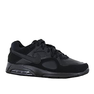 Nike Air Max Go Strong Leather Black Mens Trainers Size 8.5 UK