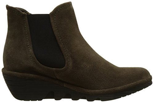 FLY London Damen Phil Chelsea Boots Braun (Sludge)