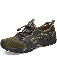 Zapatillas De Trekking De Senderismo para Hombre Zapatillas De Deporte De Malla Transpirable De Verano Zapatillas