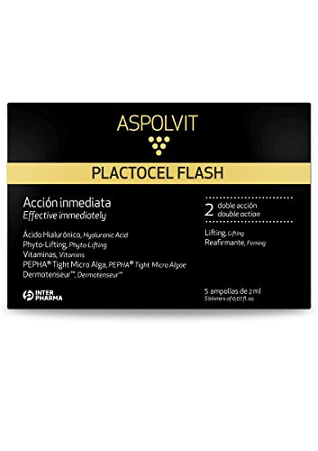 ASPOLVIT – FLASH Ampollas antiedad reafirmantes (5 ampollas)