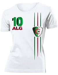 FOOTBALL WORLD CUP - EUROPEAN CHAMPIONSHIP ALGERIEN FAN T-Shirt Femme Small - XX-Large