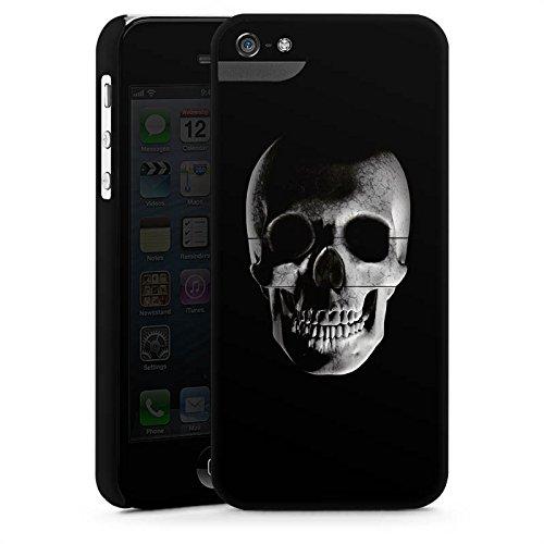 Apple iPhone 5s Housse Étui Protection Coque Crâne Crâne Pirates CasStandup blanc