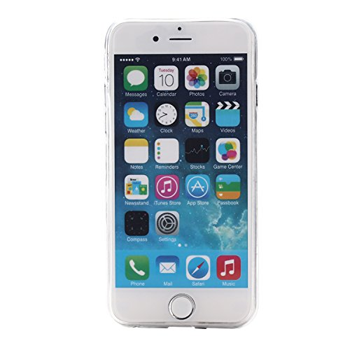 "MOONCASE pour iPhone 6 / 6S (4.7"") Case Housse Silicone Gel TPU Case Coque Étui Cover X14 X12 #1207"