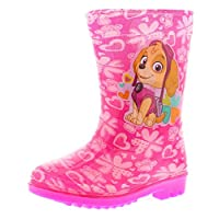 Paw Patrol Everest Girls Synthetic Material Wellies Pink