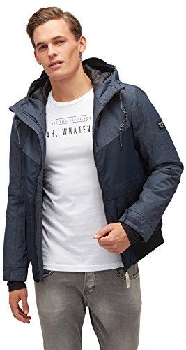 TOM TAILOR DENIM für Männer Jacket Blouson-Jacke mit Kapuze blue denim L
