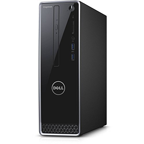 2016 Newest Dell Inspiron 3250 Premium High Performance Small Desktop PC, Intel Core i3-6100U, 4GB RAM, 1TB HDD, DVD/CD+/-RW, HDMI, VGA, WIFI, Windows 10, Black (without Monitor)