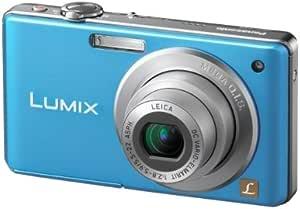Panasonic Lumix Dmc Fs6 Digitalkamera 2 5 Zoll Blau Kamera