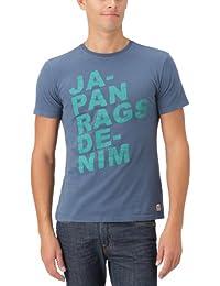 Japan Rags Zurick - T-Shirt - Cintré - Uni - Homme