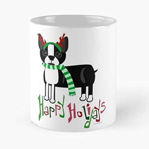 Dog Pet Christmas Cactus - Funny Gifts For Men And Women Gift Coffee Mug Tea Cup White-11 Oz. -