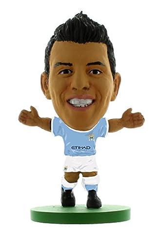 SoccerStarz–Man City Sergio Aguero–Home Kit