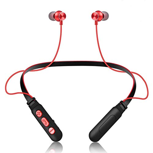 SamMoSon 2019 Auriculares Bluetooth Inalambricos Estereo Bluetooth,Auriculares Inalámbricos Bluetooth 4.2 Deportes Auriculares...