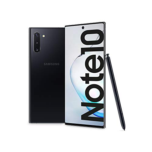 Samsung Galaxy Note10 Smartphone, Display 6.3', 256 GB, RAM 8 GB, Batteria 3500 mAh, 4G, Dual SIM, Android 9 Pie, Aura Black [Versione Italiana] 2019