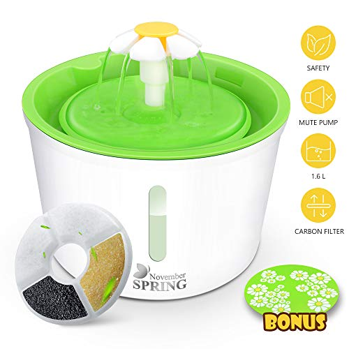 Pet Water Fountain with Water Le...