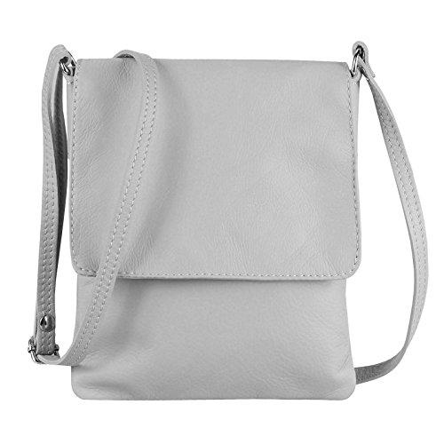 OBC Only-Beautiful-Couture, Borsa a tracolla donna Grigio grigio chiaro 18x22 cm (BxH) grigio chiaro