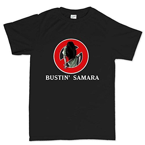 Customised_Perfection Bustin' Samara Ghost Ring Horror T Shirt (Tee)