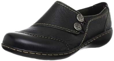 Ladies Clarks Embrace Charm Black Leisure Shoes Size 9