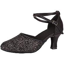 462dcaff456 Sandalias Mujer Verano 2019 con Plataforma Moda para Waltz Danza Moderna Zapato  SalóN De Baile Danza