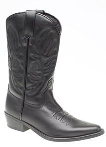 Gringos M699AZ Mens Cowboy Boots Black M699AZ