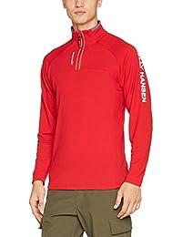 Helly Hansen Hp 1/2 Zip Pullover Jersey, Hombre, Rojo, Medium (Tamaño del Fabricante:M)