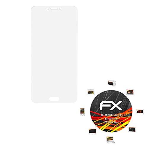 atFolix Schutzfolie kompatibel mit Allview X3 Soul Plus Bildschirmschutzfolie, HD-Entspiegelung FX Folie (3X)