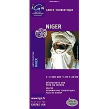 Carte routière : Niger