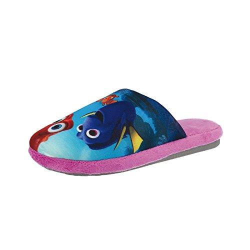 Tierhausschuhe Plüsch Hausschuhe Disney Findet Dorie Nemo Dory Schlappen Pantoffel ORIGNIAL hochwertig Kinder, TH-DoryNemo Dorie Slipper pink