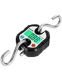 Bascula de gancho, bascula digital de RISEPRO con grúa de bolsillo para equipaje de pesca