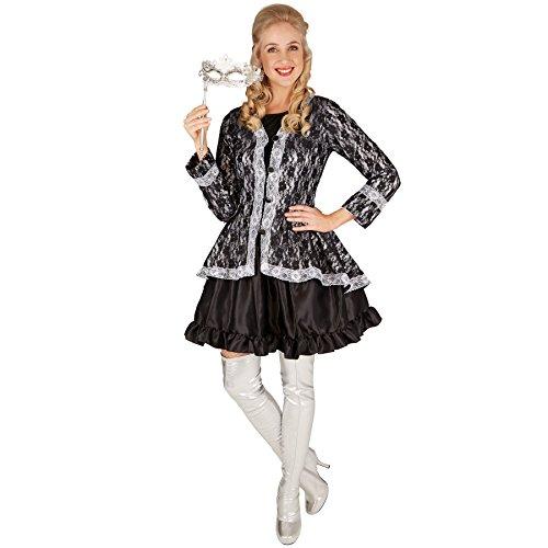 TecTake dressforfun Frauenkostüm Adlige Gräfin | Zauberhaftes Kleid mit aufwendige Jacke (M | Nr. ()