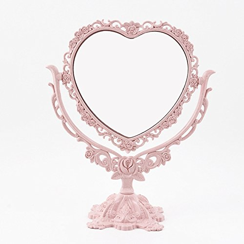 Espeedy Espejo maquillaje escritorio giratorio espejo