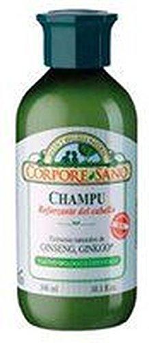 Champú Ginseng Eleuterococo y Ginkgo 300 ml de Corpore Sano
