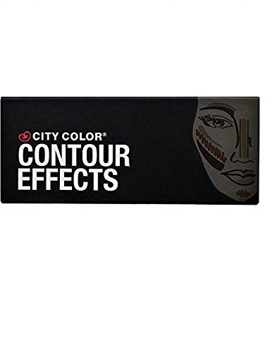 CITY COLOR Contour Effects - Contour/Blush/Highlight (Make-up Blush-palette Unter $5)
