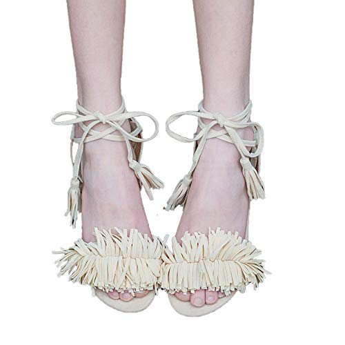 97f714575 POLP Sandalias Mujer Verano Alpargatas Plataforma Cuña Bohemias Planas  Mares Romanas Playa Gladiador Tacon Zapatos Zapatillas